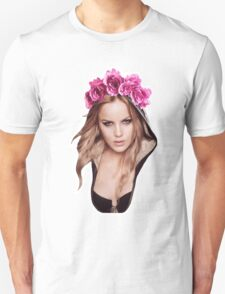 Sweet Pea Flower Crown Unisex T-Shirt