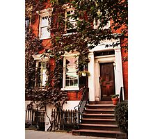 Greenwich Village Charm Photographic Print