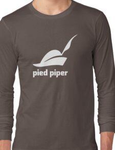 Pied Piper 3.0 Logo - Silicon Valley - New Logo - Season 3 Long Sleeve T-Shirt