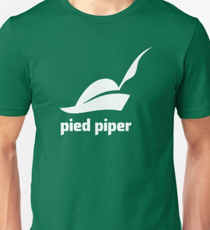 Pied Piper 3.0 Logo - Silicon Valley - New Logo - Season 3 Unisex T-Shirt
