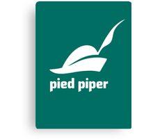 Pied Piper 3.0 Logo - Silicon Valley - New Logo - Season 3 Canvas Print