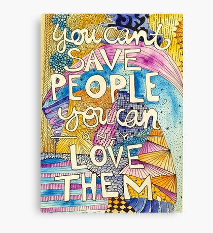 Love People Canvas Print