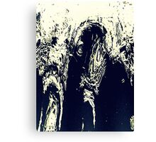 Haunted Soul ... or Old Elephant Canvas Print