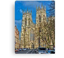 York Minster, England (HDR) Canvas Print