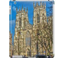 York Minster, England (HDR) iPad Case/Skin