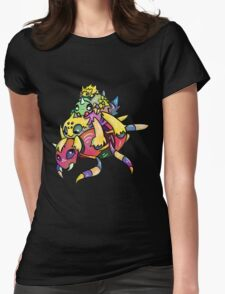 Spider Stack Womens Fitted T-Shirt