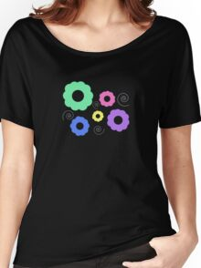 Pastel Flowers Women's Relaxed Fit T-Shirt