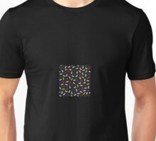 Postmodern Primary Christmas Bulb Sprinkles Unisex T-Shirt