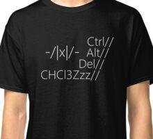 Ctrl//Alt//Del Classic T-Shirt