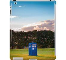 The TARDIS & sunset iPad Case/Skin