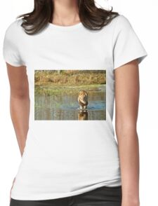 Lion crossing river T-Shirt