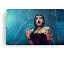 Blind Mag song  Canvas Print