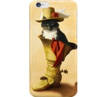 Little Puss in Boots iPhone Case/Skin