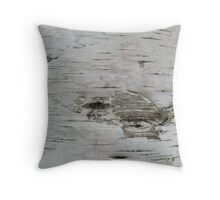Birch Texture Throw Pillow