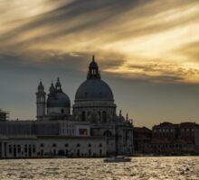 Watercolor Sky Over Venice Sticker