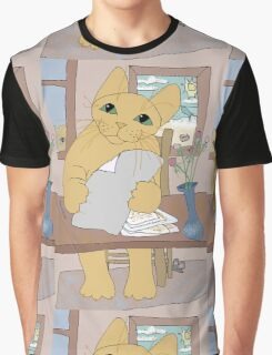 IS THAT CAT A WRITER? Graphic T-Shirt