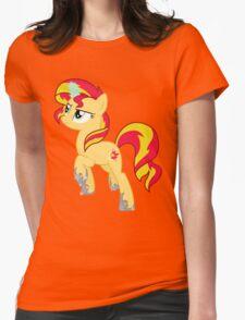 Sunset Shimmer (design) Womens Fitted T-Shirt