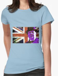 CHURCHILL-UNION JACK Womens Fitted T-Shirt