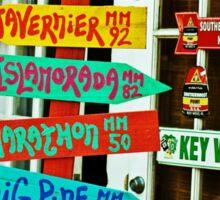 On island time Sticker