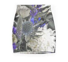 Purple Thistle Mini Skirt