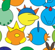 Pokemon Starter Pyramid Sticker