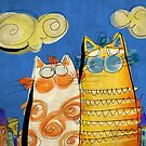 Cats - blue by catru