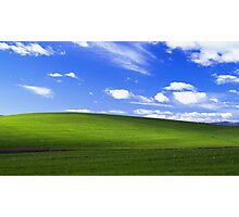 Windows XP Background Photographic Print