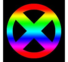 Mutant Pride Photographic Print