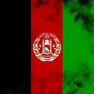 Afghanistan Flag by Confundo