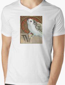 Art Nouveau Hedgehog Mens V-Neck T-Shirt