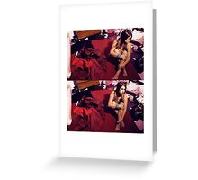 Silent Chaos Greeting Card