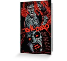 evil dead art #1 Greeting Card