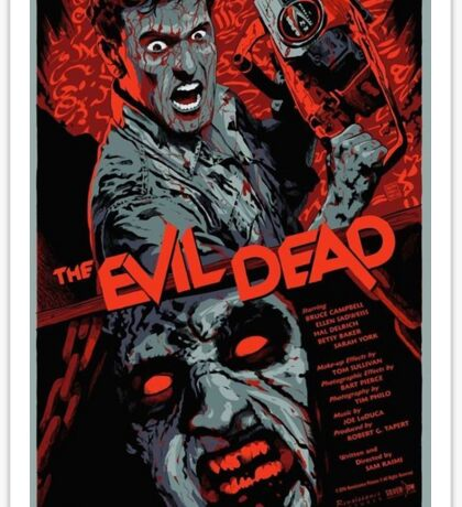 evil dead art #1 Sticker