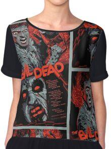 evil dead art #1 Chiffon Top