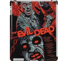 evil dead art #1 iPad Case/Skin
