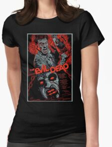 evil dead art #1 Womens Fitted T-Shirt