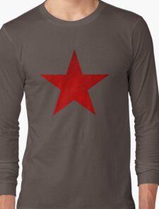 VINTAGE RED ARMY SOVIET STAR USSR WW2 T34 TANK Long Sleeve T-Shirt