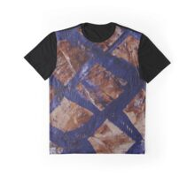 Purple Fence Graphic T-Shirt