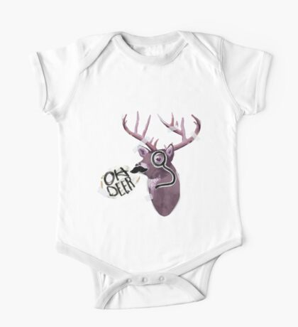 Oh deer One Piece - Short Sleeve