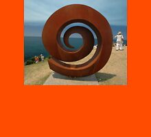 Spiral @ Sculptures By The Sea, 2011 Unisex T-Shirt