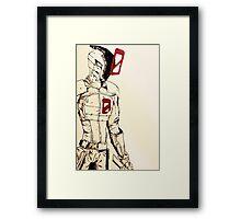 Zero // Borderlands art #1 Framed Print