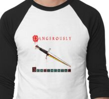 Dangerously Sentimental Dagger Men's Baseball ¾ T-Shirt