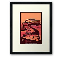 Mad Max Art #1 Framed Print