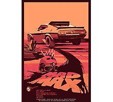 Mad Max Art #1 Photographic Print