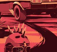 Mad Max Art #1 Sticker