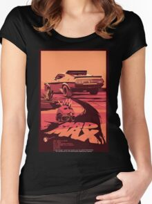 Mad Max Art #1 Women's Fitted Scoop T-Shirt