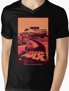 Mad Max Art #1 Mens V-Neck T-Shirt