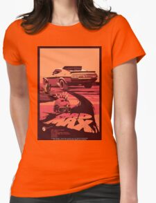 Mad Max Art #1 Womens Fitted T-Shirt