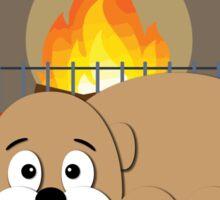 Cozy Dog Sticker