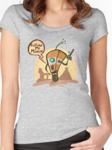 Follow me minion Women's Fitted Scoop T-Shirt